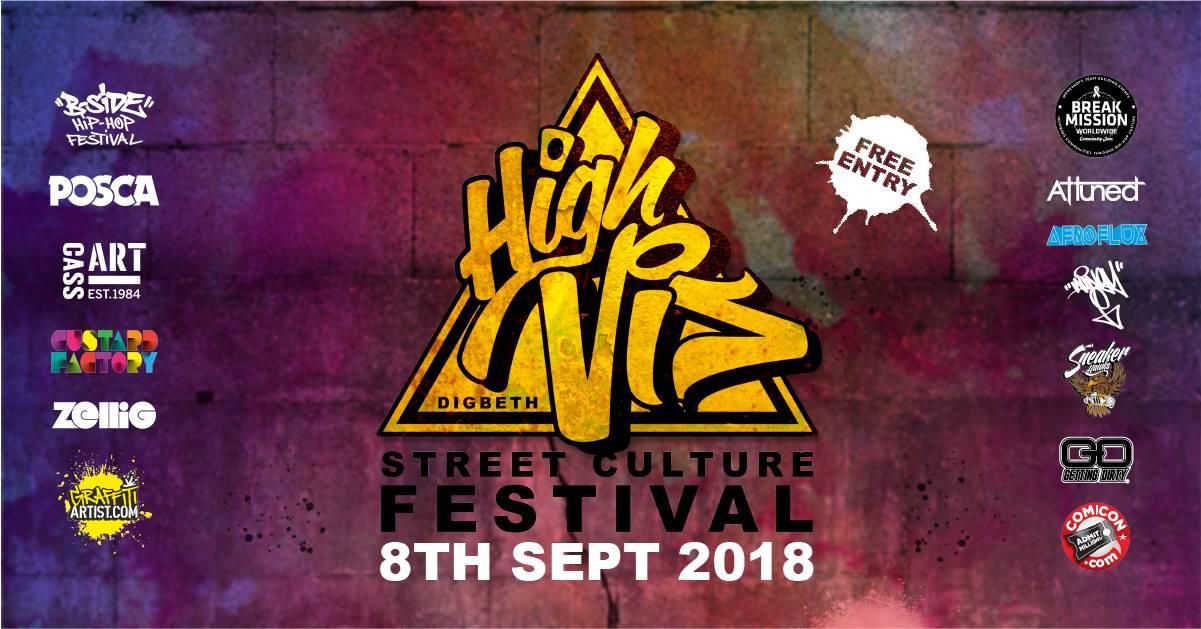AfroFlux at High Vis Festival 8th Sept 2018